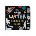 Vandeniu spalvinamos kortelės